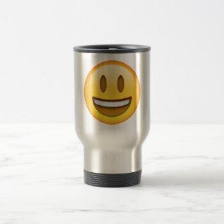 Emoji - Smile Open Eyes Travel Mug