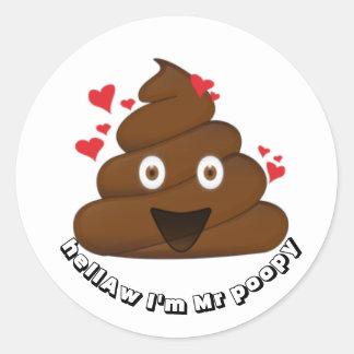 Emoji Sticker Smiley Poop