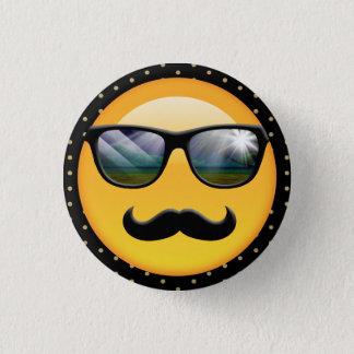 Emoji Super Shady ID230 3 Cm Round Badge