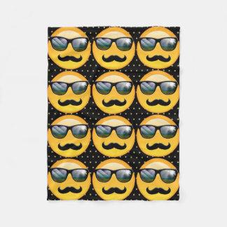 Emoji Super Shady ID230 Fleece Blanket