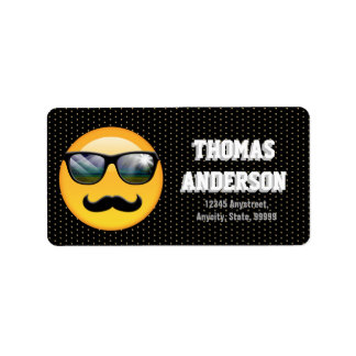 Emoji Super Shady ID230 Label