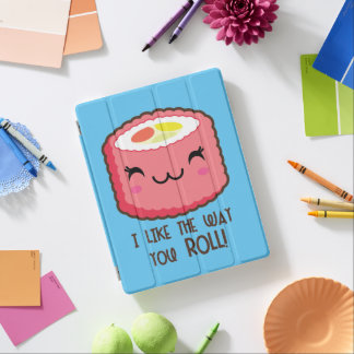 Emoji Sushi Roll iPad Cover