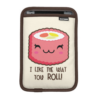 Emoji Sushi Roll iPad Mini Sleeve
