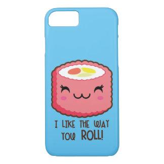 Emoji Sushi Roll iPhone 8/7 Case