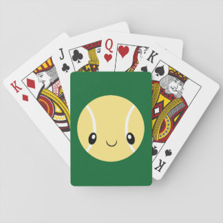 Emoji Tennis Ball Playing Cards