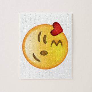 Emoji - Throwing Kiss Jigsaw Puzzle