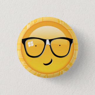 Emoji Totally Techie ID229 3 Cm Round Badge