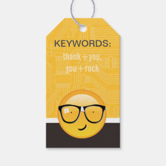 Emoji Totally Techie ID229 Gift Tags
