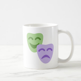 Emoji Twitter - Drama Theater Coffee Mug
