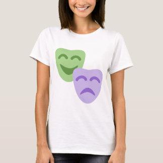 Emoji Twitter - Drama Theater T-Shirt