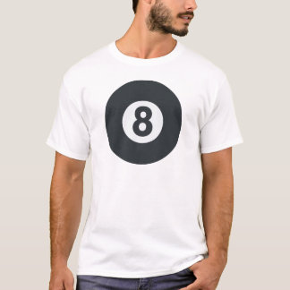 Emoji Twitter - Eight ball Pool T-Shirt