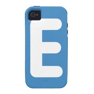emoji Twitter - Letter E Vibe iPhone 4 Covers