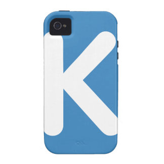 Emoji Twitter - Letter K Case-Mate iPhone 4 Covers