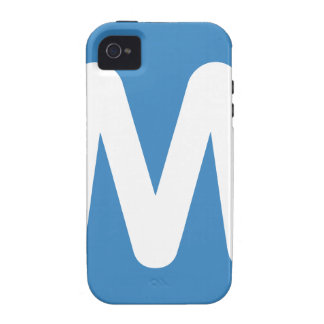 Emoji Twitter - Letter M iPhone 4 Covers