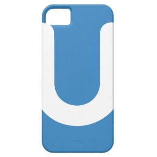 Emoji Twitter - Letter U iPhone 5 Case