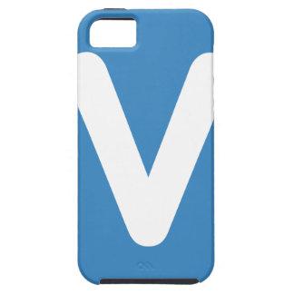 Emoji Twitter - Letter V iPhone 5 Case