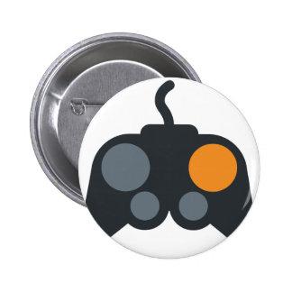 Emoji Twitter - Video Ranges to control 6 Cm Round Badge