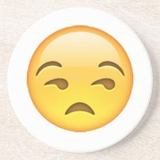 Emoji - Unamused Coaster