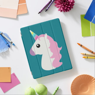 Emoji Unicorn iPad Cover