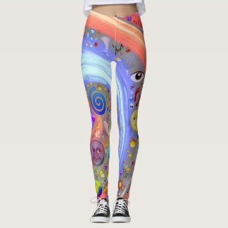 Emoji Universe Leggings