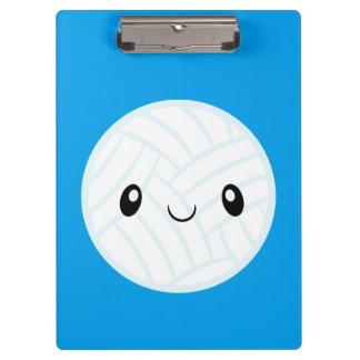 Emoji Volleyabll Clipboards