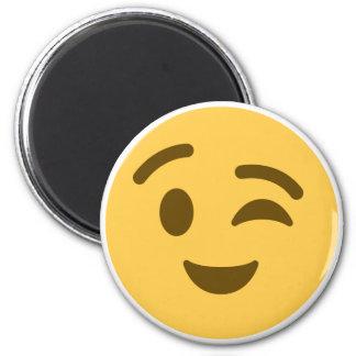 Emoji Wink Magnet