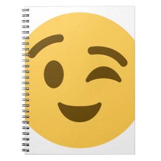 Emoji Wink Notebooks