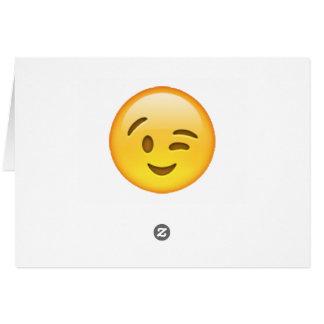 Emoji - Winking Card
