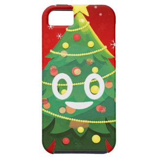 Emoji Xmas Tree Design Case For The iPhone 5