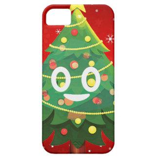Emoji Xmas Tree Design iPhone 5 Covers