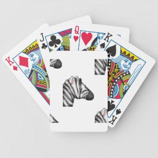 emoji zebra bicycle playing cards