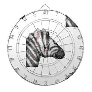 emoji zebra dartboard