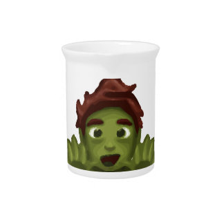 emoji zombie man pitcher