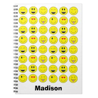 """Emojis"" Personalized Notebook"