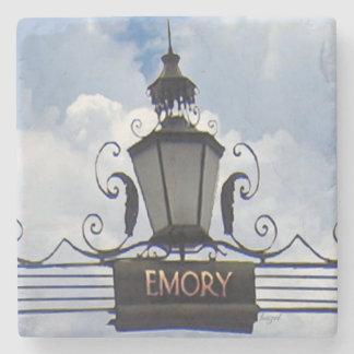 Emory Lantern Decatur GA Marble Stone Coaster. Stone Coaster