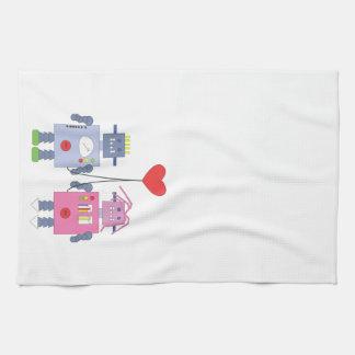 EMOs Turned On Tea Towel