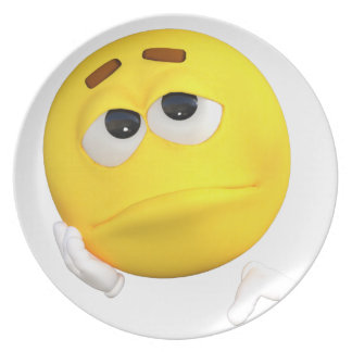 emoticon-1634515 party plate