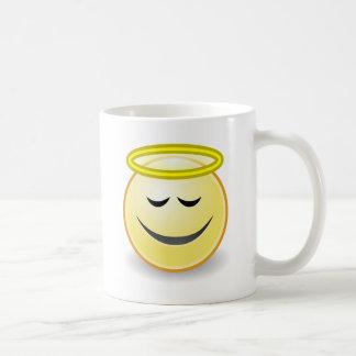 Emoticon Angel Coffee Mug