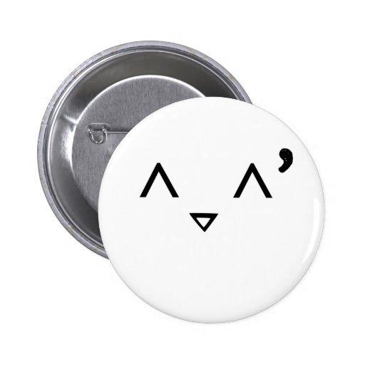 Emoticon: Embarrassed Button