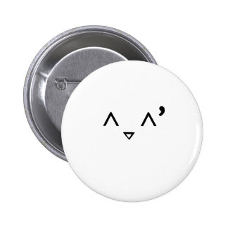 Emoticon Embarrassed Pinback Buttons