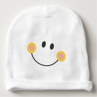 Emoticon smile baby beanie