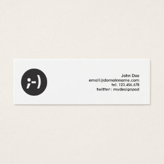 Emoticon Smiley Profile Business Card