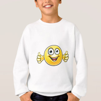 Emoticon Thumbs Up Icon Sweatshirt