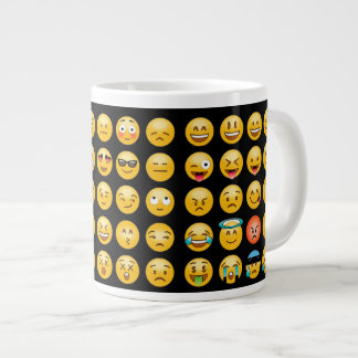 Emoticons express with smileys Coffee Mug