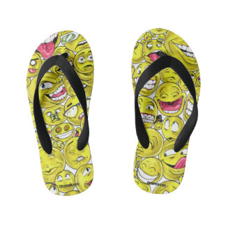 Emoticons Flip Flops Thongs