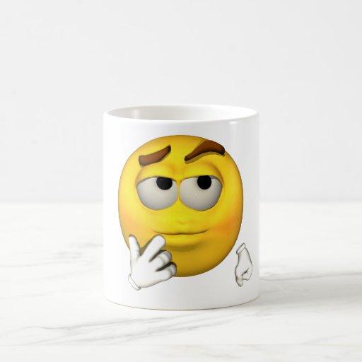 Emotion Guy - Sarcastic Mug