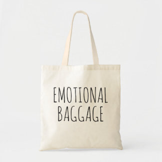 Emotional baggage bestselling sewing groceries tote bag