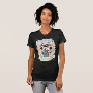 Emotional Cat. Playful. T-Shirt