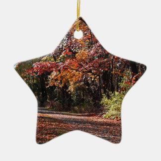 Emotional Collapse Ceramic Ornament