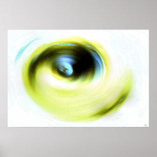 Emotional Eye Poster